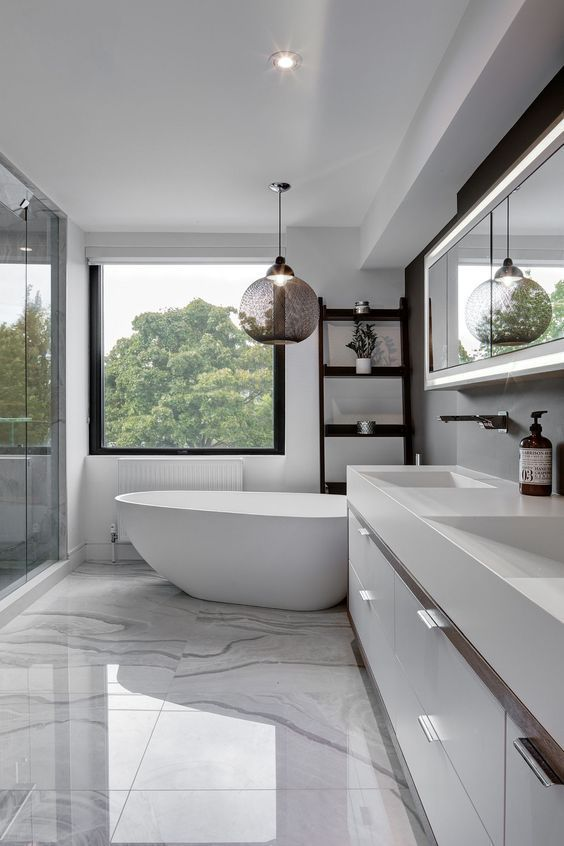 Stunning Modern Bathroom Decoration Ideas 11
