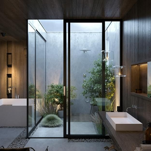 Stunning Modern Bathroom Decoration Ideas 16