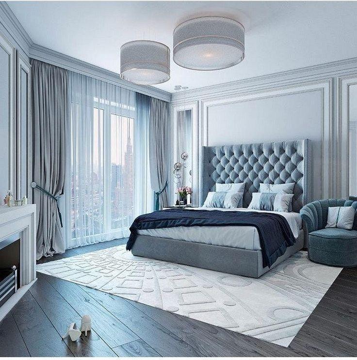 Stunning Modern Colorful Bedroom Decor Ideas 04