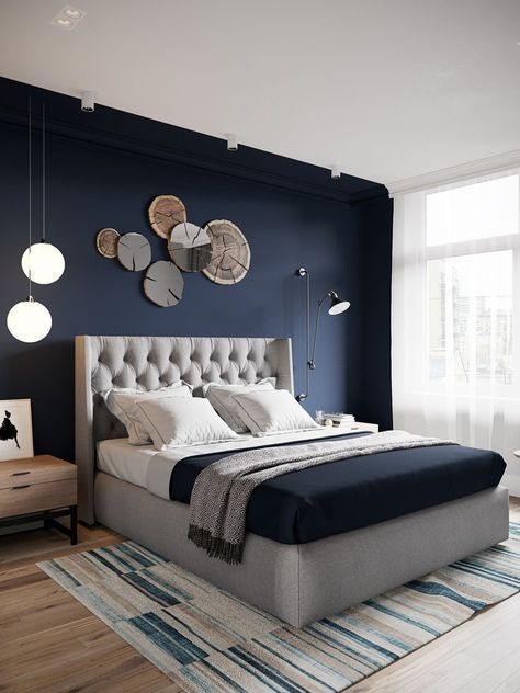 Stunning Modern Colorful Bedroom Decor Ideas 28