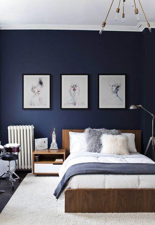 Stunning Modern Colorful Bedroom Decor Ideas 30