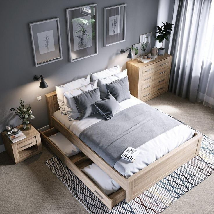 Stunning Modern Colorful Bedroom Decor Ideas 32