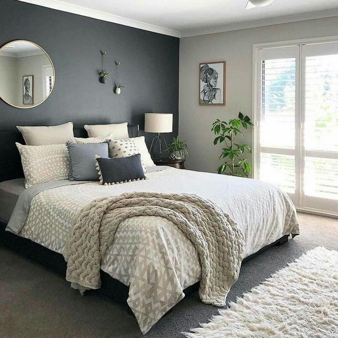 Stunning Modern Colorful Bedroom Decor Ideas 34