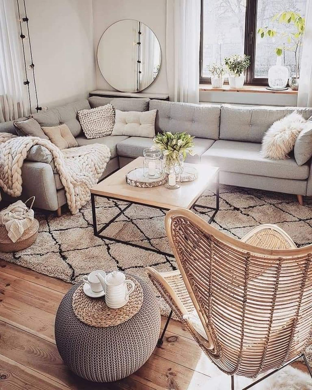 Stunning Neutral Decor Ideas For Your Living Room 05