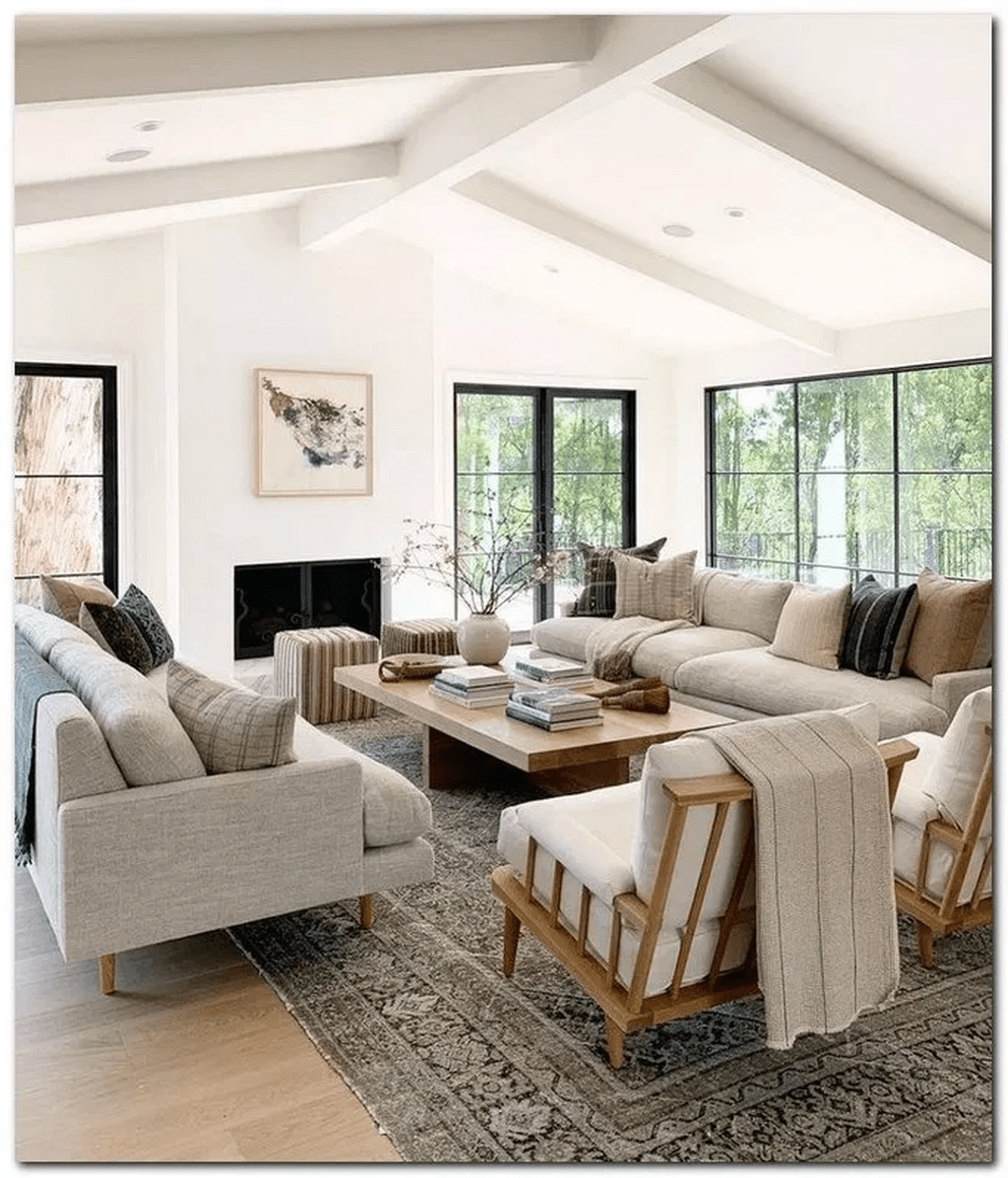 Stunning Neutral Decor Ideas For Your Living Room 06