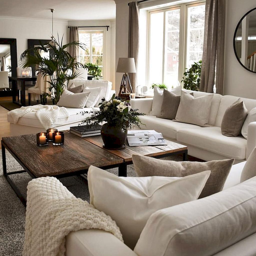 Stunning Neutral Decor Ideas For Your Living Room 27