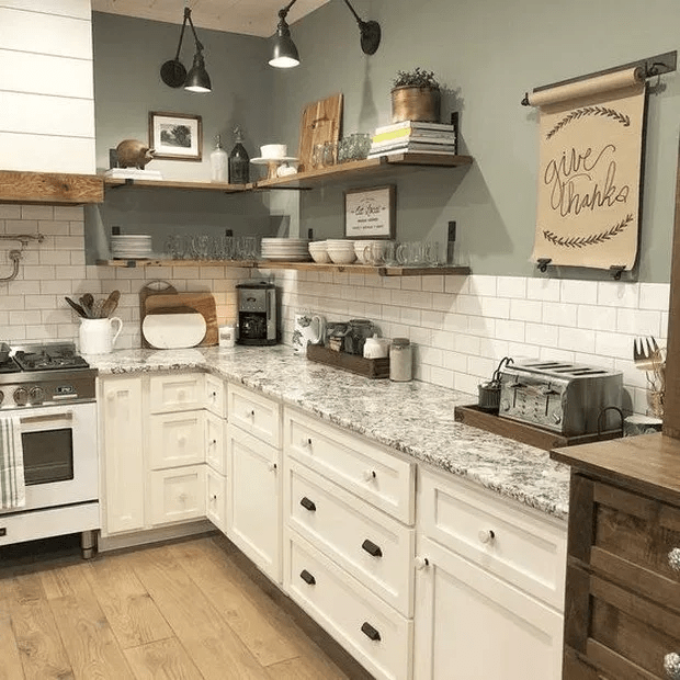 The Best Farmhouse Kitchen Cabinets Design Ideas 08