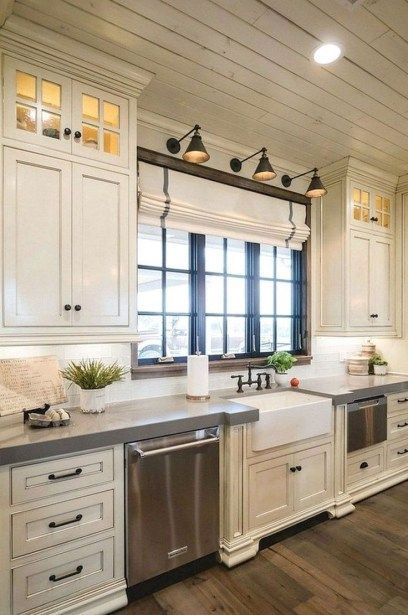 The Best Farmhouse Kitchen Cabinets Design Ideas 28