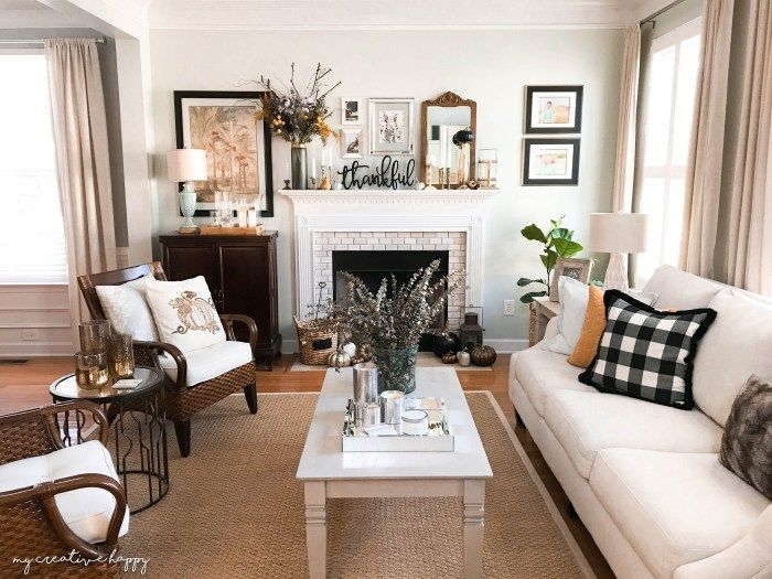 The Best Thanksgiving Living Room Decor Ideas 15