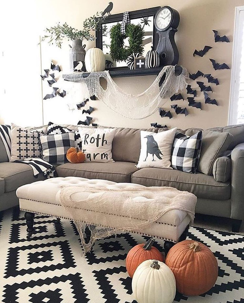 The Best Thanksgiving Living Room Decor Ideas 23