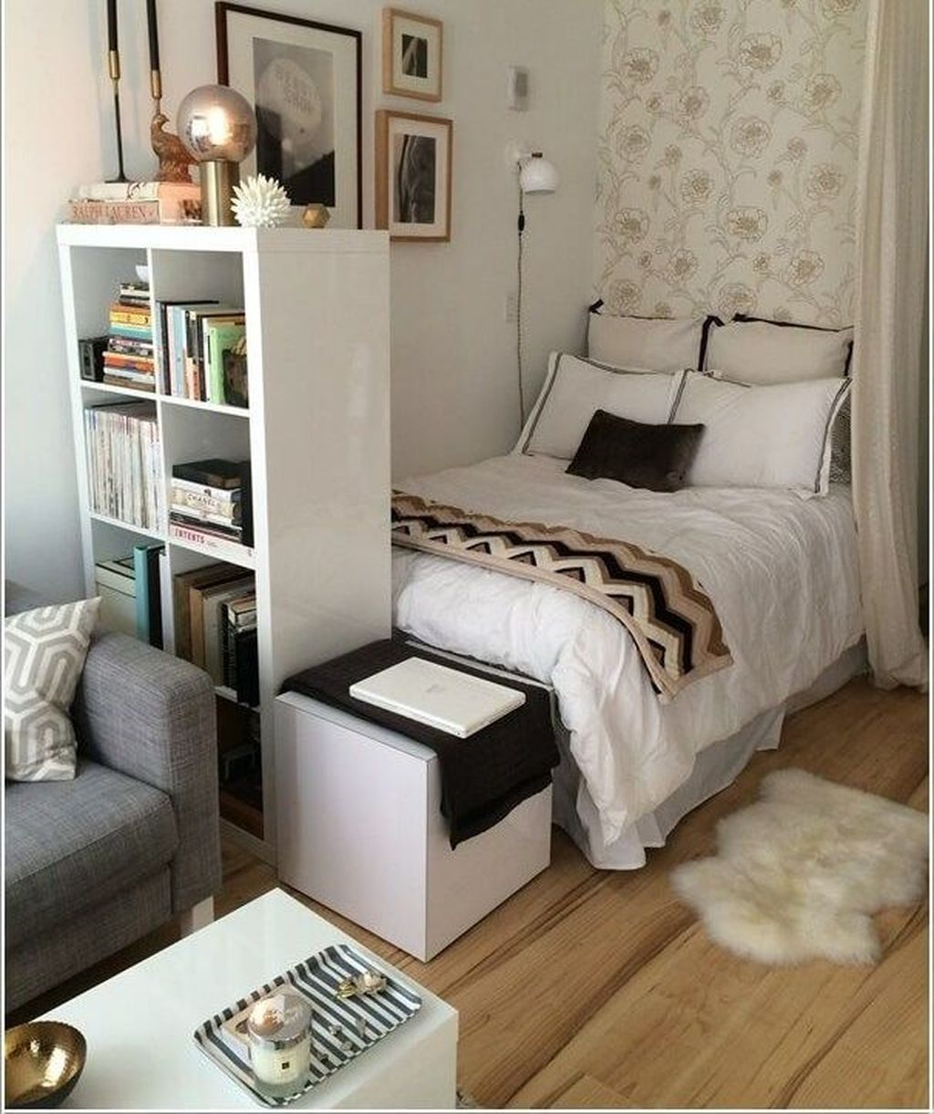 Awesome Modern Small Bedroom Design And Decor Ideas 04