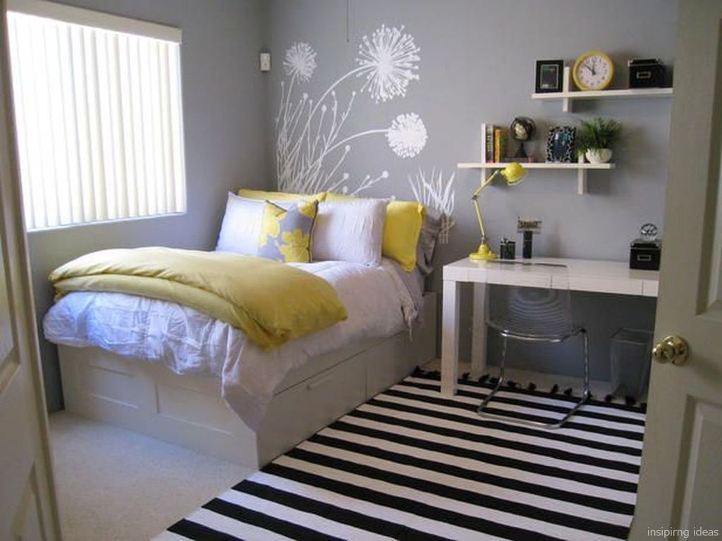 Awesome Modern Small Bedroom Design And Decor Ideas 18