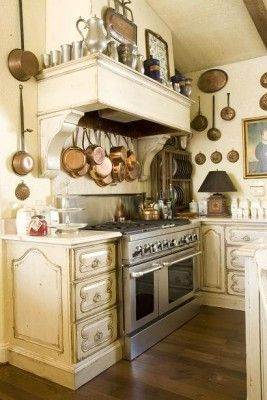 Fabulous French Country Kitchens Design Ideas 04