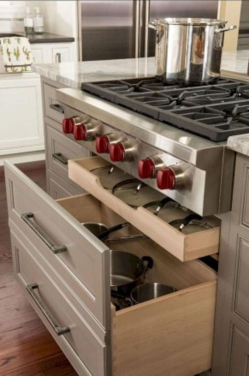 Lovely DIY Kitchen Storage Ideas To Maximize Kitchen Space 06