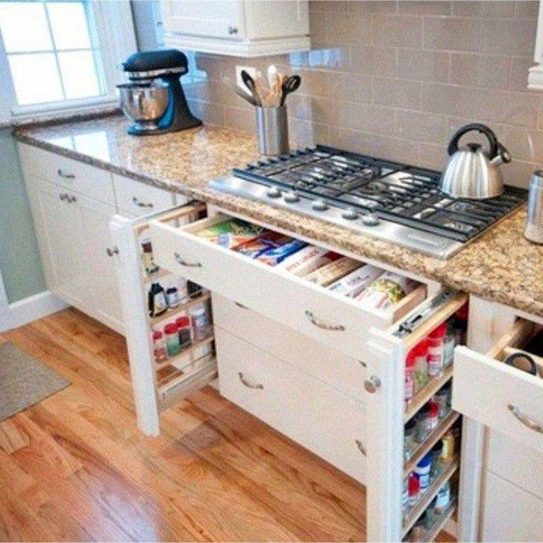 Lovely DIY Kitchen Storage Ideas To Maximize Kitchen Space 07