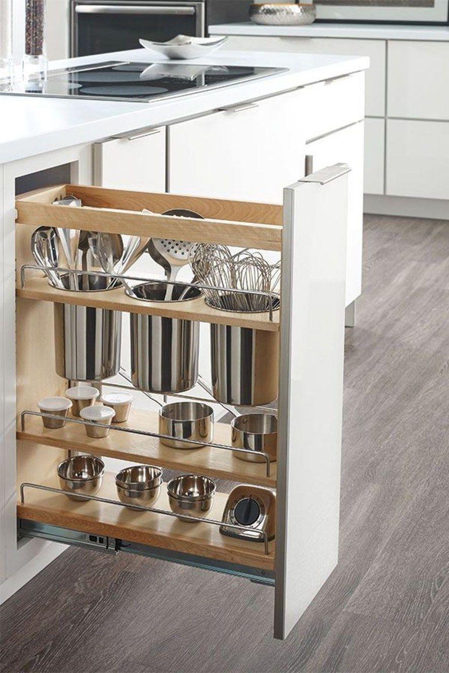 Lovely DIY Kitchen Storage Ideas To Maximize Kitchen Space 18