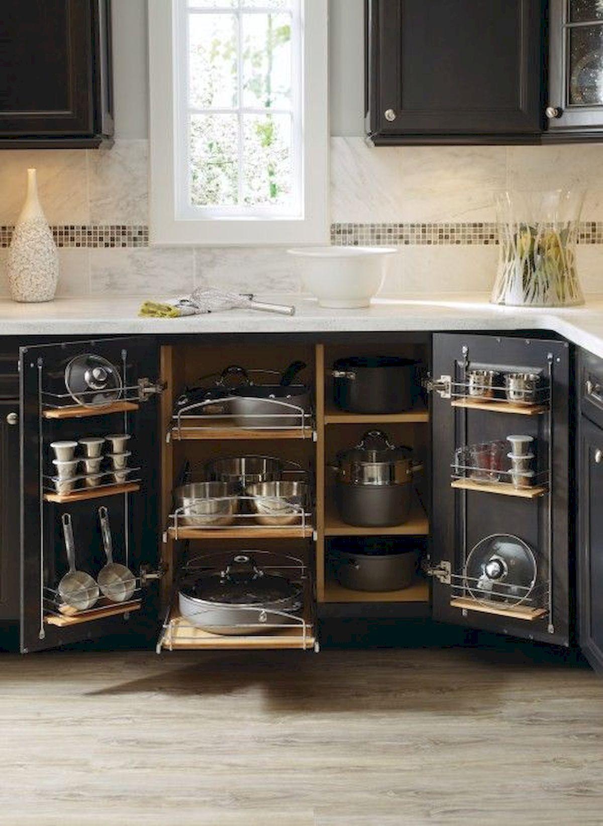 Lovely DIY Kitchen Storage Ideas To Maximize Kitchen Space 19