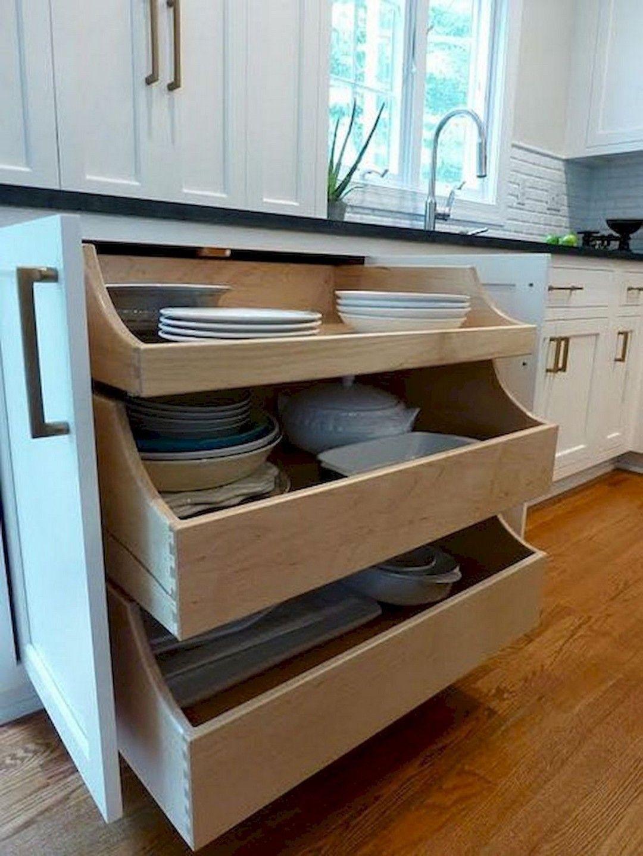 Lovely DIY Kitchen Storage Ideas To Maximize Kitchen Space 27