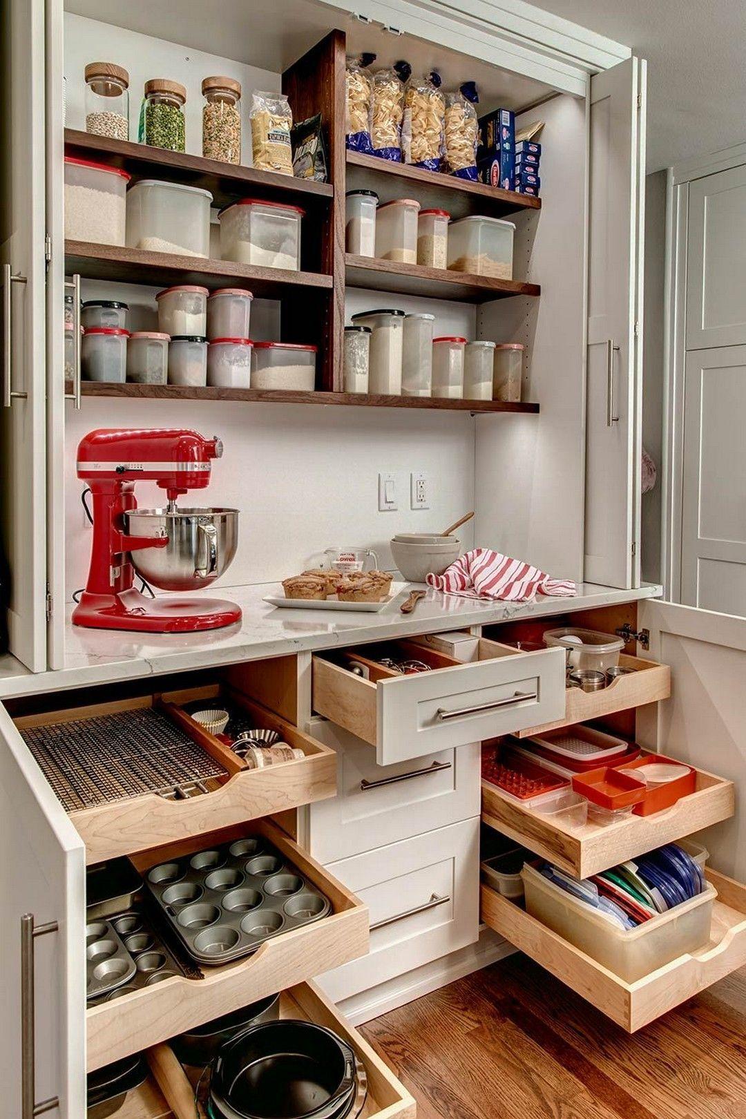 Lovely DIY Kitchen Storage Ideas To Maximize Kitchen Space 33