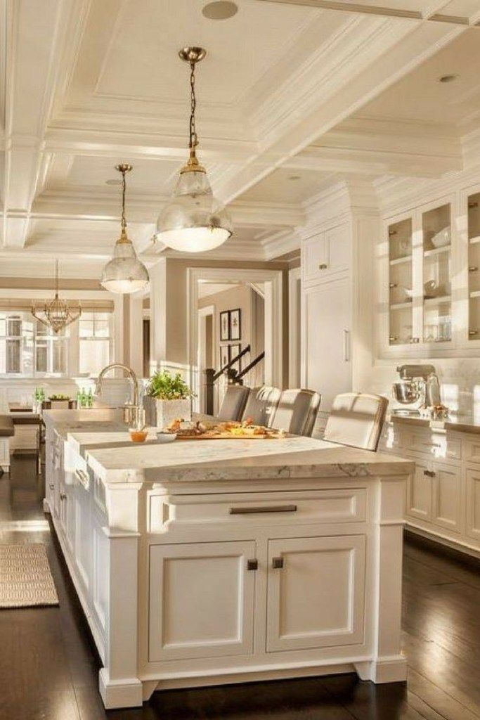 Stunning Farhouse Kitchen Design Ideas 15