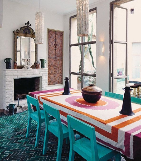 The Best Moroccan Dining Room Decor Ideas 06