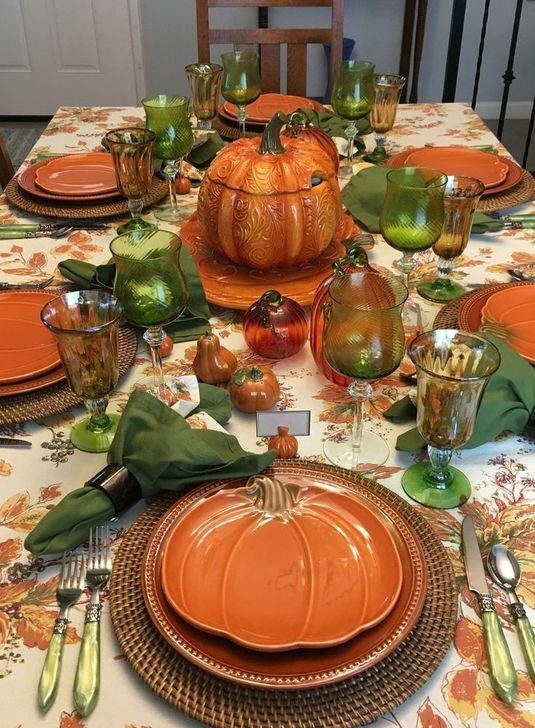 Amazing Fall Dining Table Decor Ideas For Your Dining Room Decor 07