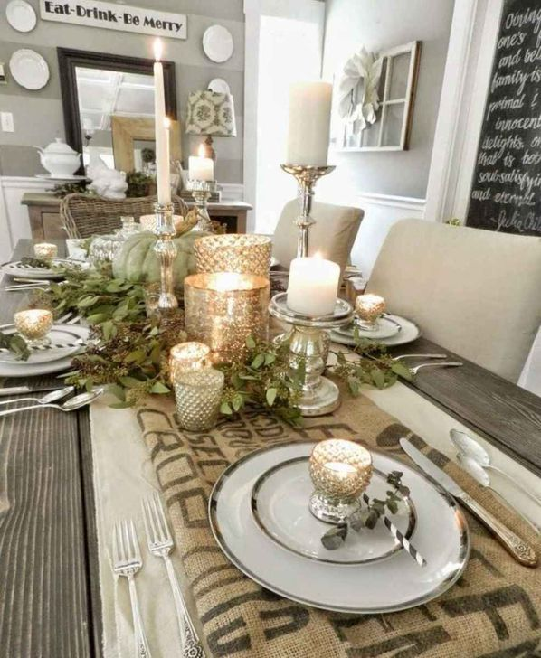 Amazing Fall Dining Table Decor Ideas For Your Dining Room Decor 13