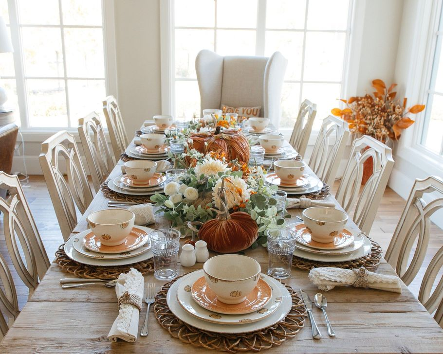 Amazing Fall Dining Table Decor Ideas For Your Dining Room Decor 17