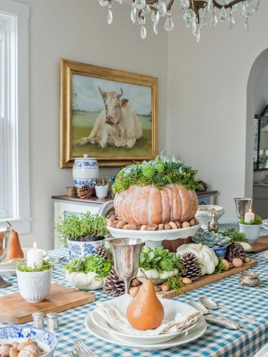 Amazing Fall Dining Table Decor Ideas For Your Dining Room Decor 26