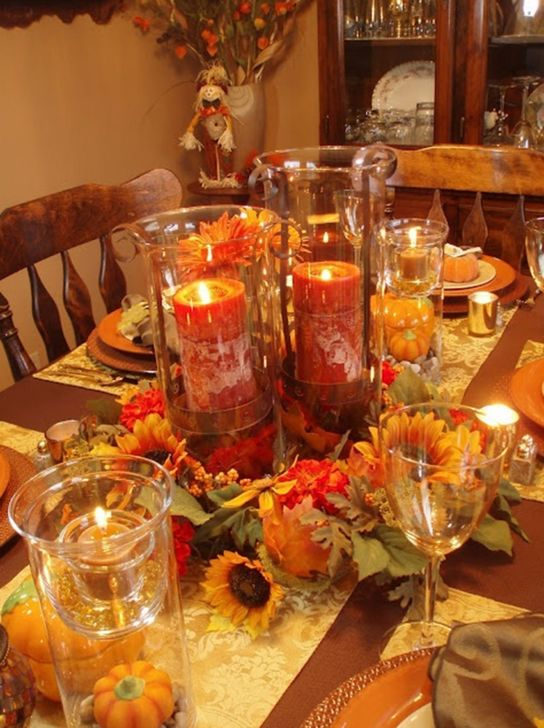 Amazing Fall Dining Table Decor Ideas For Your Dining Room Decor 29