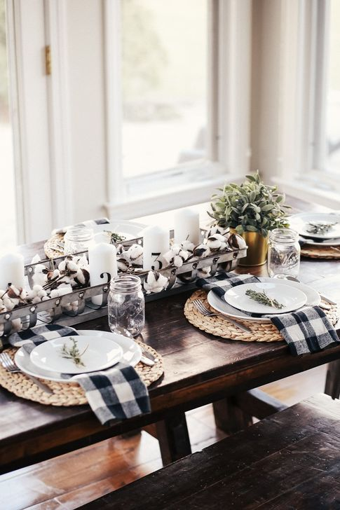 Amazing Fall Dining Table Decor Ideas For Your Dining Room Decor 32