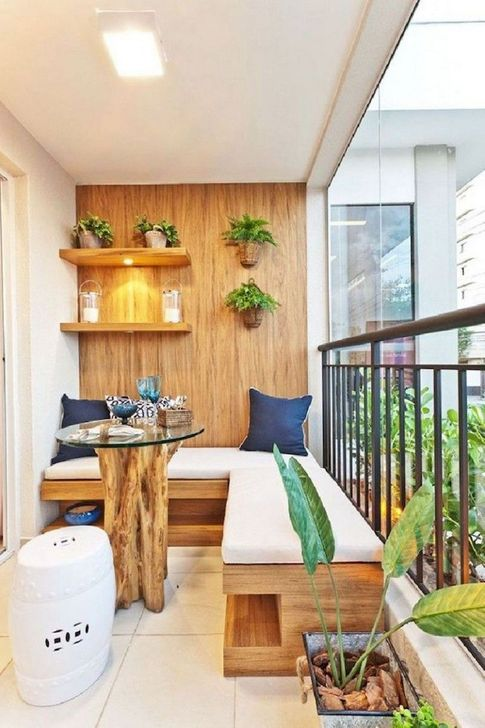 Awesome Apartment Balcony Decorating Ideas 04