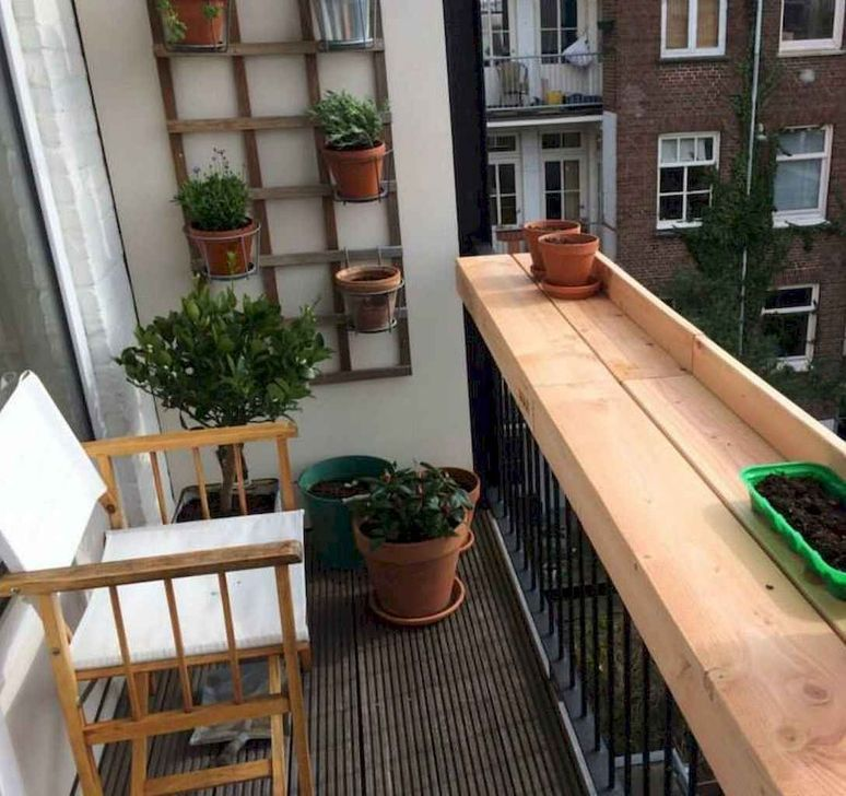Awesome Apartment Balcony Decorating Ideas 11
