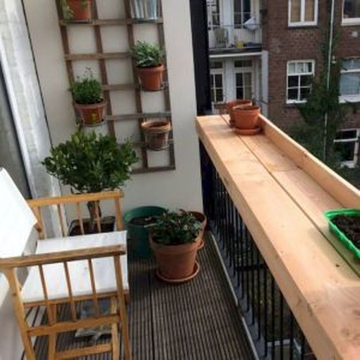 Awesome Apartment Balcony Decorating Ideas 15