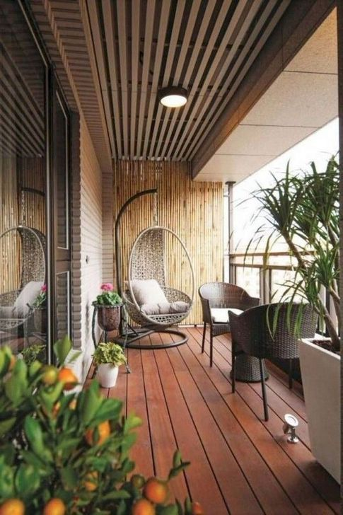 Awesome Apartment Balcony Decorating Ideas 22