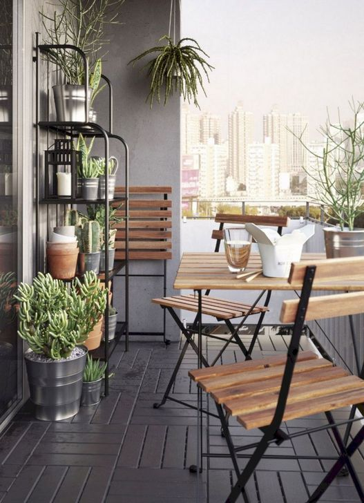 Awesome Apartment Balcony Decorating Ideas 27