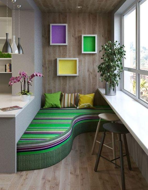 Awesome Apartment Balcony Decorating Ideas 29