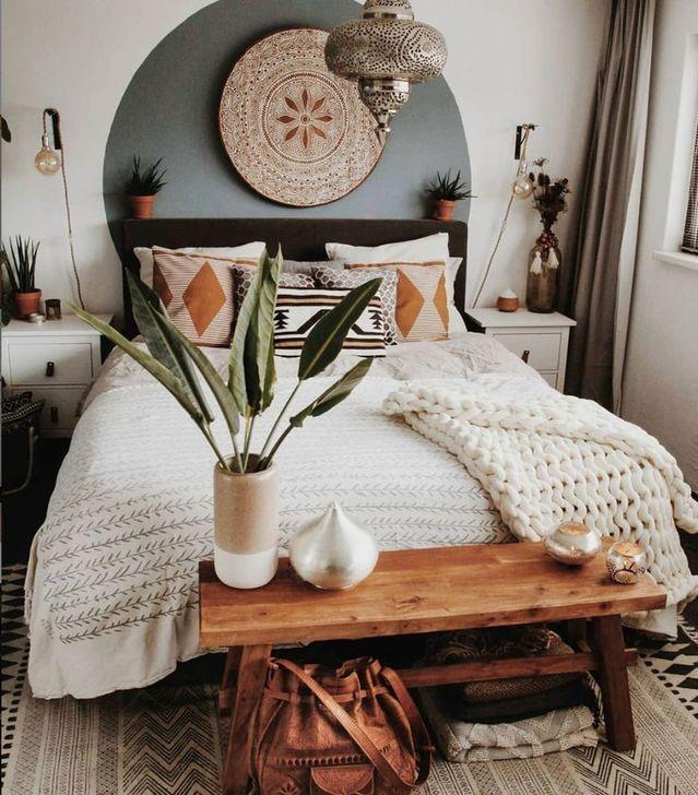 Beautiful Moroccan Bedroom Decor Ideas 29