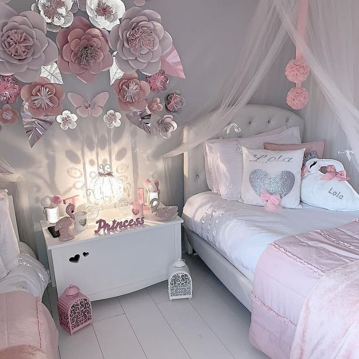 Beautiful Pink Bedroom Decor Ideas Looks Romantic 02