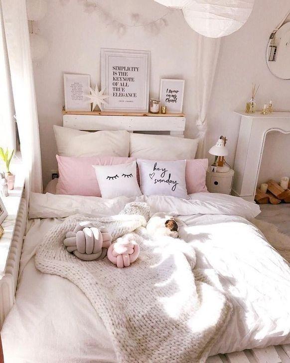 Beautiful Pink Bedroom Decor Ideas Looks Romantic 07