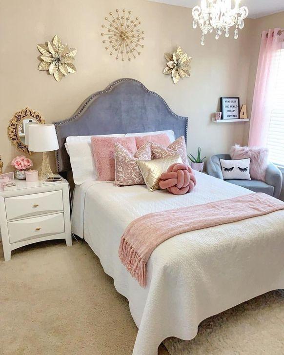 Beautiful Pink Bedroom Decor Ideas Looks Romantic 11