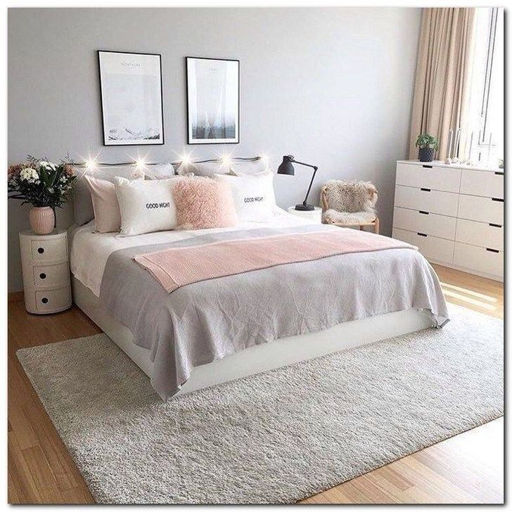 Beautiful Pink Bedroom Decor Ideas Looks Romantic 17