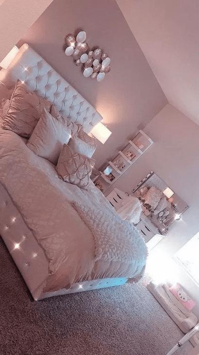 Beautiful Pink Bedroom Decor Ideas Looks Romantic 24