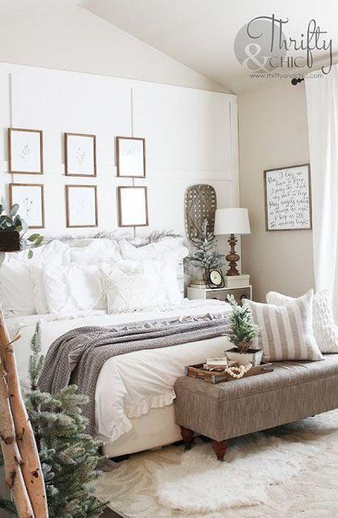 Beautiful White Bedroom Design And Decor Ideas 02