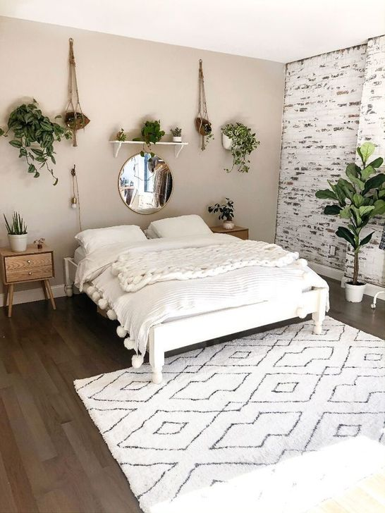 Beautiful White Bedroom Design And Decor Ideas 27