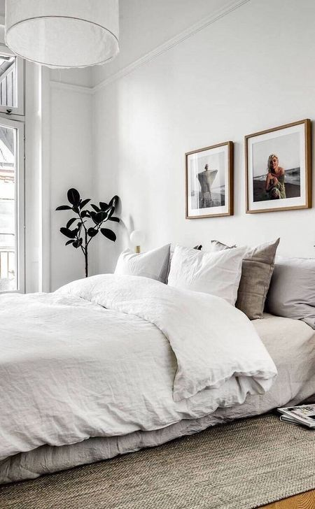 Beautiful White Bedroom Design And Decor Ideas 35