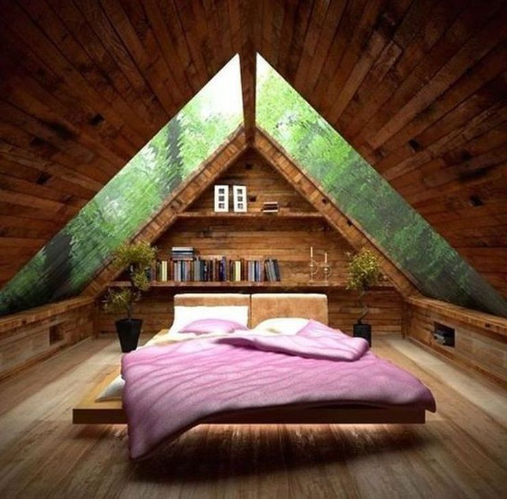 Fabulous Small Attic Bedroom Design Ideas You Will Like 12