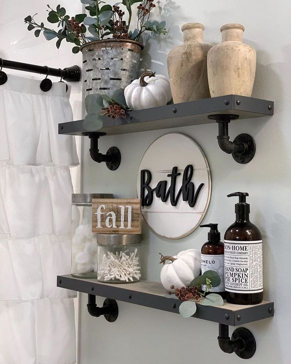 Gorgeous Fall Bathroom Decorating Ideas 03