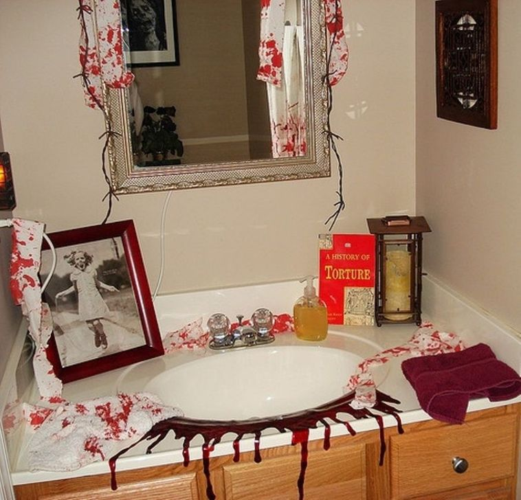 Gorgeous Fall Bathroom Decorating Ideas 06