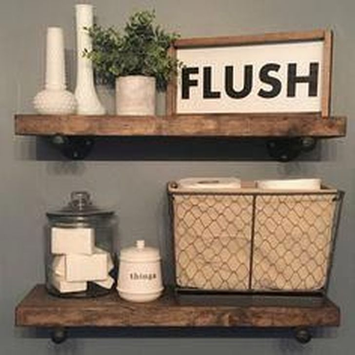Gorgeous Fall Bathroom Decorating Ideas 22